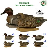 "Комплект чучел утки ""Чирок-свистунок Pro-Grade Green-Winged Teal №73123"" (GreenHead Gear)"